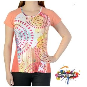 DESIGUAL Training Tee Activewear Top